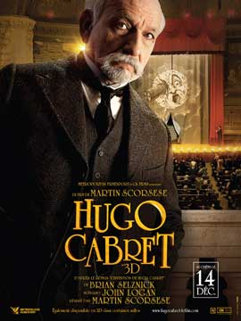 Hugo - 11 x 17 Movie Poster - French Style D