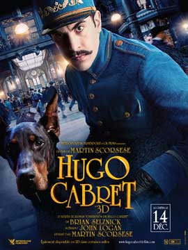 Hugo - 11 x 17 Movie Poster - French Style G
