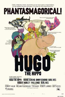 Hugo the Hippo - 27 x 40 Movie Poster - Style B