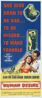 Human Desire - 13 x 30 Movie Poster - Australian Style A