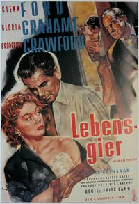 Human Desire - 11 x 17 Movie Poster - German Style A