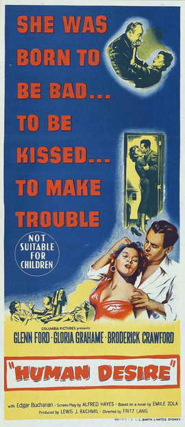 Human Desire - 14 x 36 Movie Poster - Insert Style A