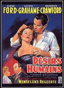 Human Desire - 11 x 17 Movie Poster - French Style B