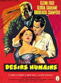 Human Desire - 11 x 17 Movie Poster - French Style C