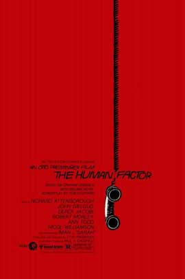 The Human Factor - 11 x 17 Movie Poster - Style A