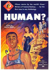 Human? - 11 x 17 Retro Book Cover Poster