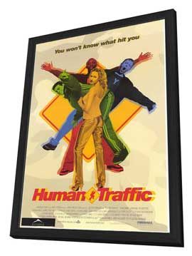 Human Traffic - 27 x 40 Movie Poster - Style A - in Deluxe Wood Frame