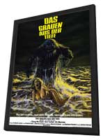 Humanoids from the Deep - 11 x 17 Movie Poster - German Style A - in Deluxe Wood Frame