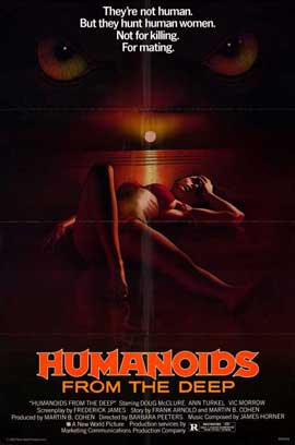 Humanoids from the Deep - 11 x 17 Movie Poster - Style A