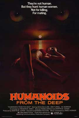 Humanoids from the Deep - 27 x 40 Movie Poster - Style A