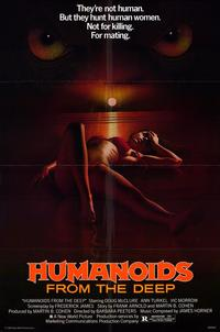 Humanoids from the Deep - 43 x 62 Movie Poster - Bus Shelter Style A