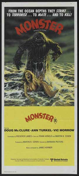 Humanoids from the Deep - 14 x 36 Movie Poster - Insert Style A