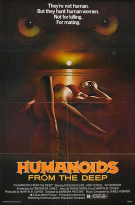 Humanoids from the Deep - 27 x 40 Movie Poster - Style C