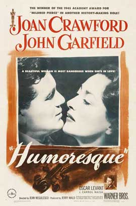 Humoresque - 11 x 17 Movie Poster - Style A