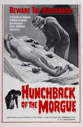 Hunchback of the Morgue - 27 x 40 Movie Poster - Style A