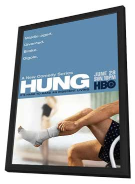 Hung (TV) - 11 x 17 TV Poster - Style A - in Deluxe Wood Frame
