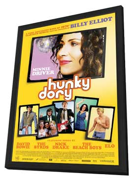 Hunky Dory - 11 x 17 Movie Poster - Style A - in Deluxe Wood Frame