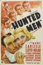 Hunted Men - 11 x 17 Movie Poster - Style A