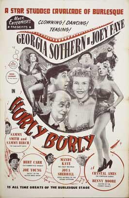 Hurly Burly - 11 x 17 Movie Poster - Style B