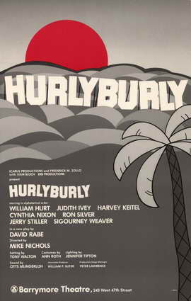 Hurlyburly (Broadway) - 11 x 17 Poster - Style A