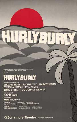 Hurlyburly (Broadway) - 27 x 40 Movie Poster - Style A