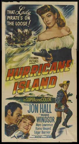 Hurricane Island - 20 x 40 Movie Poster - Style A