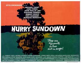 Hurry Sundown - 11 x 14 Movie Poster - Style A