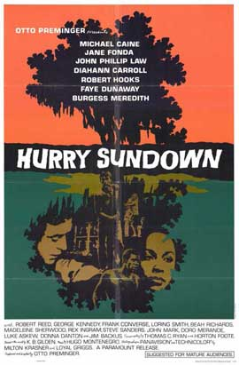 Hurry Sundown - 11 x 17 Movie Poster - Style A