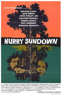 Hurry Sundown - 43 x 62 Movie Poster - Bus Shelter Style A