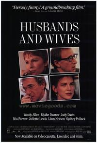 Husbands and Wives - 27 x 40 Movie Poster - Style B