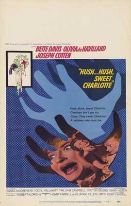 Hush Hush, Sweet Charlotte - 11 x 17 Movie Poster - Style B
