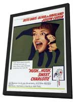 Hush...Hush, Sweet Charlotte - 11 x 17 Movie Poster - Style A - in Deluxe Wood Frame
