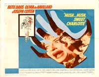 Hush...Hush, Sweet Charlotte - 22 x 28 Movie Poster - UK Style A
