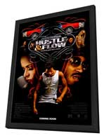 Hustle and Flow - 27 x 40 Movie Poster - Style A - in Deluxe Wood Frame