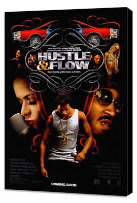 Hustle and Flow - 27 x 40 Movie Poster - Style A - Museum Wrapped Canvas