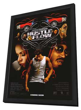 Hustle and Flow - 11 x 17 Movie Poster - Style A - in Deluxe Wood Frame