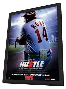 Hustle - 11 x 17 Movie Poster - Style A - in Deluxe Wood Frame