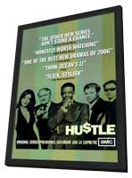 Hustle (TV) - 11 x 17 TV Poster - Style A - in Deluxe Wood Frame