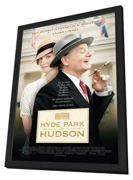 Hyde Park on Hudson - 27 x 40 Movie Poster - Style A - in Deluxe Wood Frame