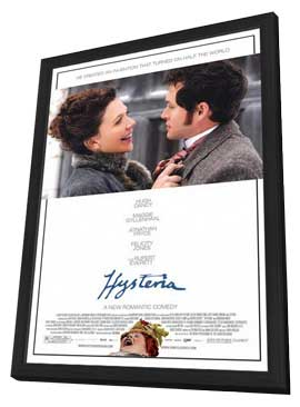 Hysteria - 11 x 17 Movie Poster - Style A - in Deluxe Wood Frame