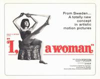 I, a Woman - 11 x 14 Movie Poster - Style B
