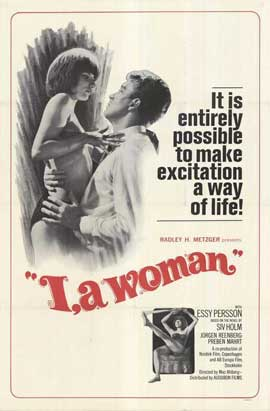 I, a Woman - 27 x 40 Movie Poster - Style B