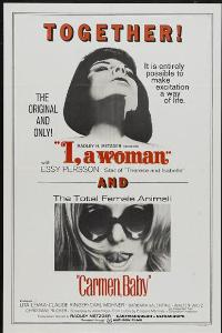 I, a Woman - 27 x 40 Movie Poster - Style C