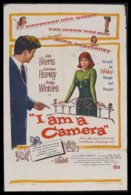 I Am a Camera - 27 x 40 Movie Poster - Style A