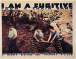 I Am a Fugitive from a Chain Gang - 11 x 14 Movie Poster - Style B