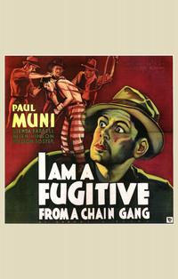 I Am a Fugitive from a Chain Gang - 11 x 14 Movie Poster - Style C