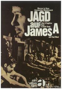 I Am a Fugitive from a Chain Gang - 11 x 17 Movie Poster - German Style B