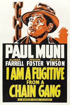 I Am a Fugitive from a Chain Gang - 27 x 40 Movie Poster - Style C