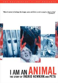 I Am an Animal: The Story of Ingrid Newkirk and PETA - 11 x 17 Movie Poster - Style A