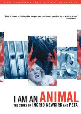 I Am an Animal: The Story of Ingrid Newkirk and PETA - 27 x 40 Movie Poster - Style A